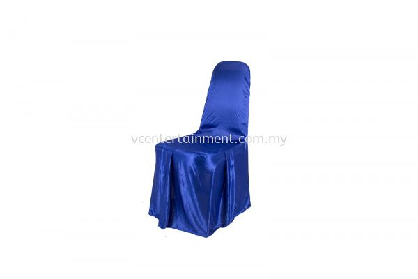 Blue Normal Banquet Chair Cover
