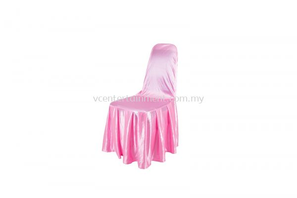 Pink Normal Banquet Chair Cover