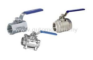 AUTOMA BALL VALVE 1000PSI 1-PC 2-PC 3-PC