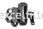 2 x 3 Way Diverter Valve with Nut Valve Filter Parts & Accessories