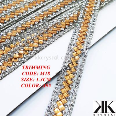 Trimming M18#, Color: A9#