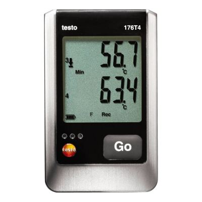 Testo 176 T4 - Temperature Data Logger [Delivery: 3-5 days subject to availability]