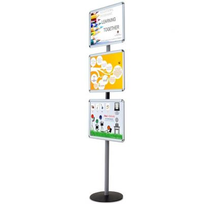 WP-EO4 EO Poster Stand A4 L36 x H155 x D34 cm