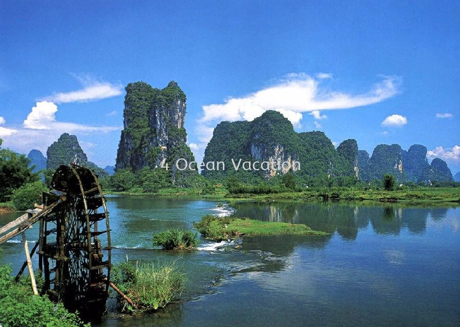 桂林 7天6晚 China Outbound Tour, Package, Travel, Services ~ Four Ocean Vacation Sdn Bhd