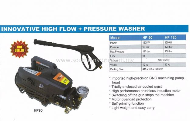 Innovative High Flow+Pressure Washer