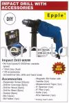 Impact Drill with Accessories Drill Power Tools