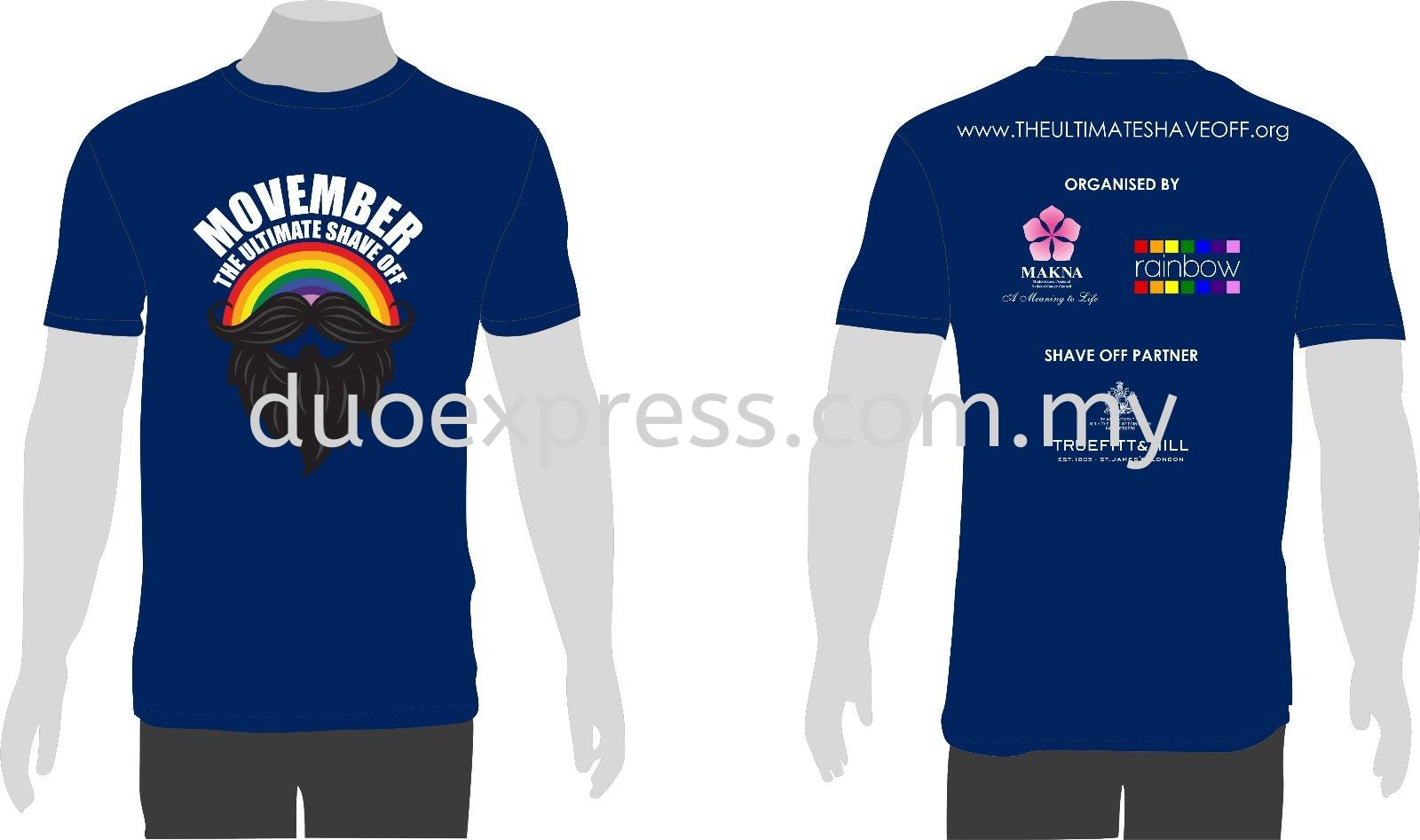 Roundneck T shirt Printing