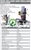 Mini Milling and Drilling Machine Milling Machine (Metal)