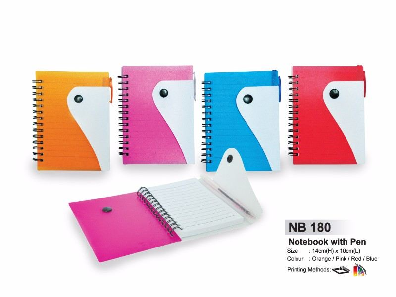 NB 180 NOTEBOOK WITH PEN