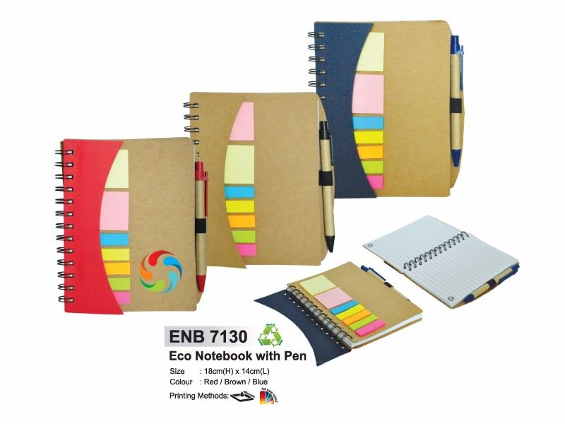 ENB 7130 ECO NOTEBOOK WITH PEN