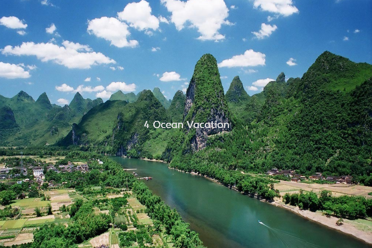 桂林 6天5晚 China Outbound Tour, Package, Travel, Services ~ Four Ocean Vacation Sdn Bhd