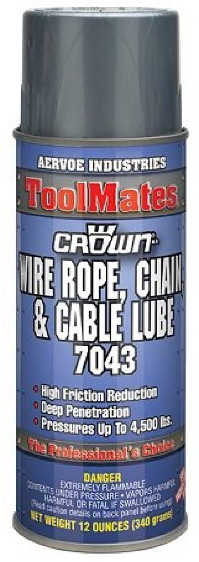 Crown - 7043 Wire Rope, Chain & Cable Lube