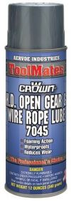 Crown - 7045 Open Gear & Wire Rope HD Crown Adhesive , Compound & Sealant