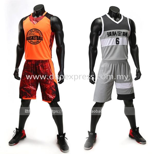 Dye sublimation basketball jersey sports jersey malaysia for Uniform spa malaysia