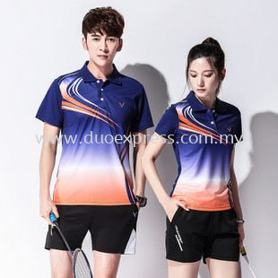 Dye Sublimation Badminton Jersey 2