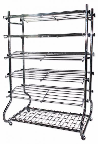 16044-3065-1 SHOES RACK-2S-CHROMED