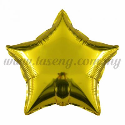 Foil Balloon Star - (FB-18-STGO)