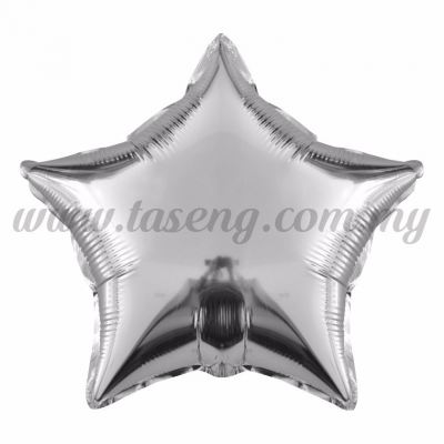 Foil Balloon Star -Silver (FB-18-STSI)