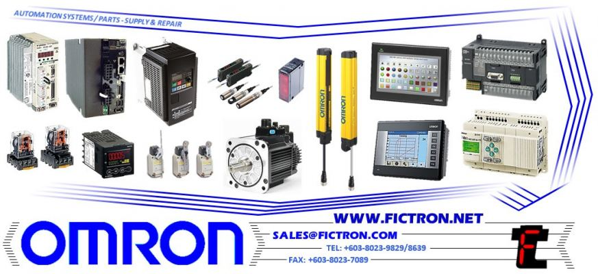 3F88L-CR005C OMRON Automation Systems Supply & Repair Malaysia Singapore Thailand Indonesia Philippines Vietnam Europe & USA