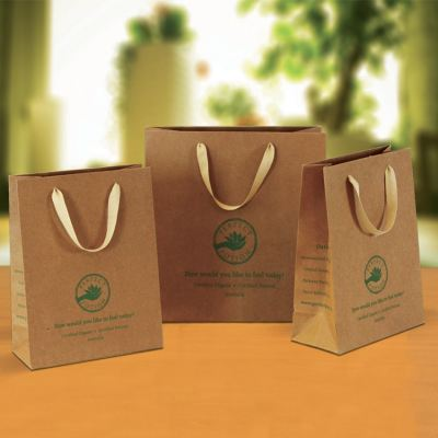 Luxury Brown Kraft Paper Bag