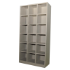 Pigeon Hole 18 Steel Pigeon Hole Metal Cabinet/Wardrobe/Racking/Storage