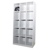 Pigeon Hole 15 Steel Pigeon Hole Metal Cabinet/Wardrobe/Racking/Storage
