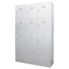 12 Compartment Steel Locker Metal Cabinet/Wardrobe/Racking/Storage
