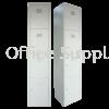 4 Compartment Steel Locker Metal Cabinet/Wardrobe/Racking/Storage