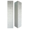 5 Compartment Steel Locker Metal Cabinet/Wardrobe/Racking/Storage