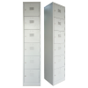 6 Compartment Steel Locker Metal Cabinet/Wardrobe/Racking/Storage