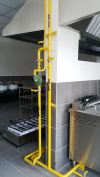 LP Gas Pipe 1 Commercial LP-Gas Piping Custom Made Kitchen- Commercial Kitchen Equipment