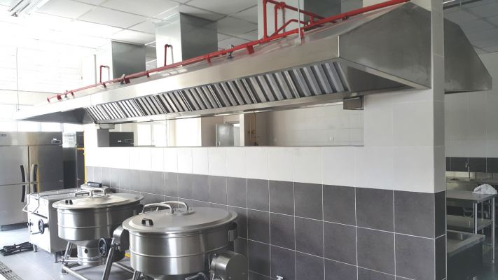 Exhaust Hood & Ducting