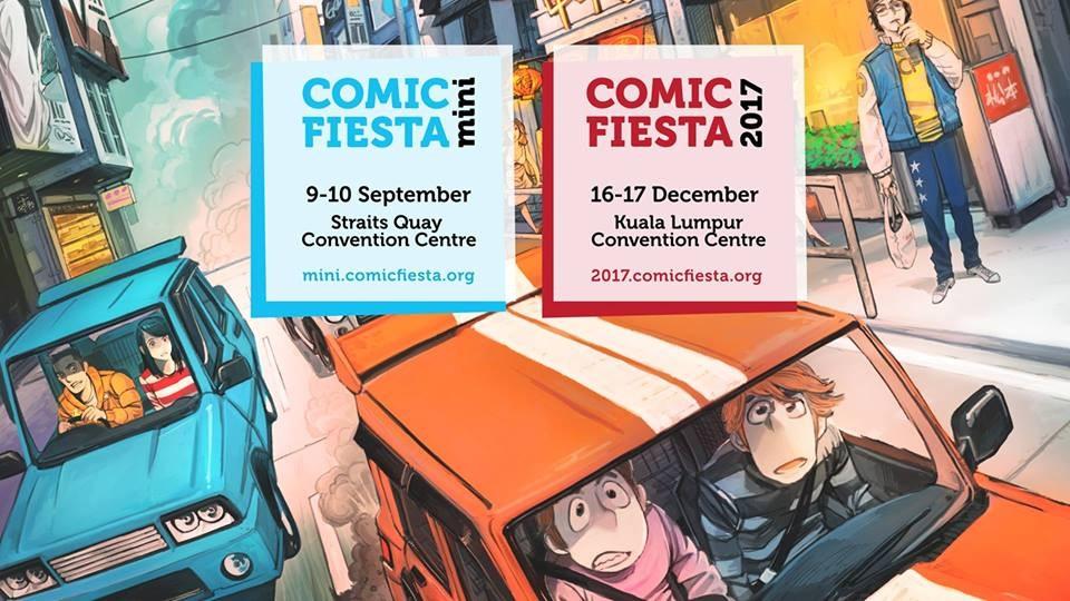 Comic Fiesta Mini 2017 - Kuala Lumpur December 2017 Year 2017 Past Listing