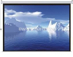 Projector Screen ( Manual Screen & Motorized Screen )