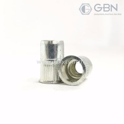 Crimp Nuts CSK Type Body Serration (SEM)