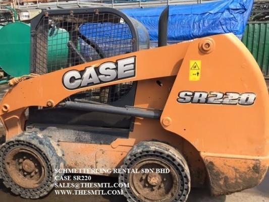 CASE skid steer loader SR220 for sale