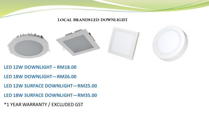 Local Branded downlight