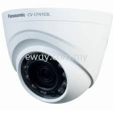 CV-CFW103L Panasonic C-Series 1.0MP HD Weatherproof Outdoor CCTV Dome Camera Unit