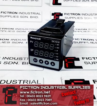 DC1010CR-101000-E DC1010 HONEYWELL PID Controller Supply Malaysia Singapore Thailand Indonesia Europe & USA