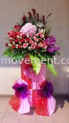 FS 312 RM 300 Opening Stand/ Congratulation Flower/ Opening Flower Flower Stand