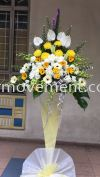 FW 402 RM 180 Funeral Flowers Stand Condolence Flower