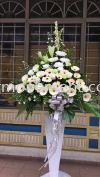 FW 403 RM200 Funeral Flowers Stand Condolence Flower