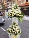 FW 405 RM300 Funeral Flowers Stand Condolence Flower