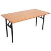 VF415N Fordable Rectangular Table W120 x D45 x H76 cm (DG-C / DG-B)(Metal Leg 25mm ) Secondary School Table  Kids Furniture