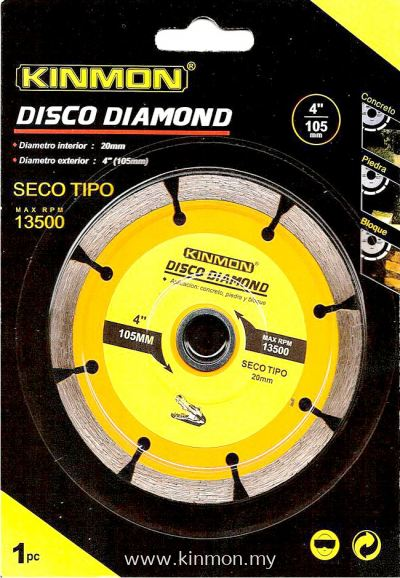 "KINMON 4"" Dry Diamond Wheel"