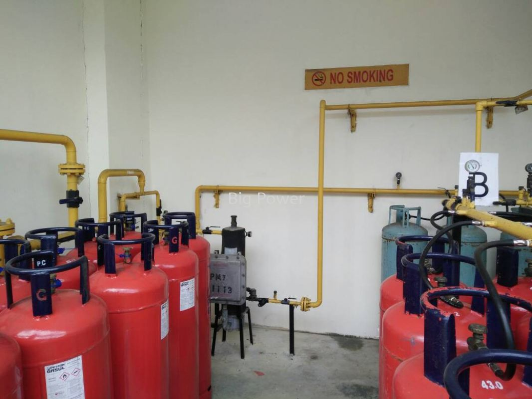 Meter Piping Arrangements System (Gas Tank Supply) Installation, Services, Supplier, Supply  ~ Big Power Engineering Sdn Bhd
