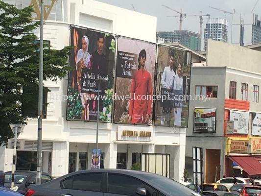 Zig Zag Billboard Altelia Amani- Shah Alam