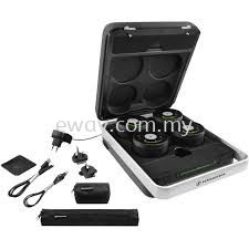 Sennheiser TeamConnect Wireless - Case Set ( Wireless Audio Conferencing System )