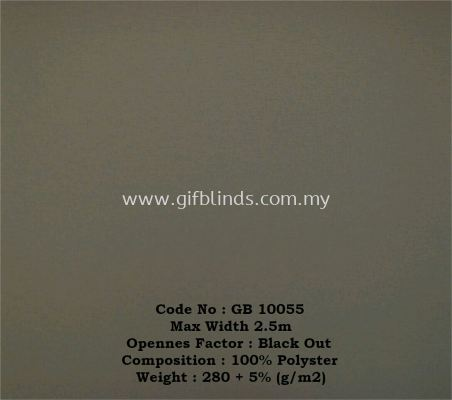 Black Out Roller Sample GB10055