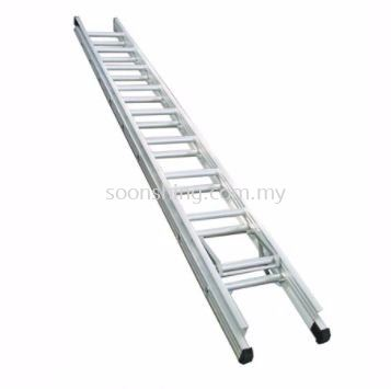 Evelas Heavy Duty Double Extension Ladder
